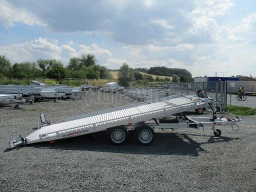 Přepravník SUV a mechanizace JB 3,5T 5,00x2,10 PLATO el.naviják* č.11