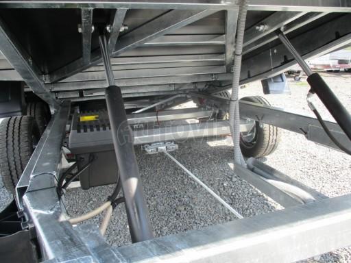 Přepravník SUV a mechanizace JB 3,5T 5,00x2,10 PLATO el.naviják* č.14