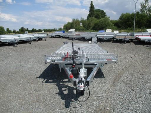 Přepravník SUV a mechanizace JB 3,5T 5,00x2,10 PLATO el.naviják* č.15