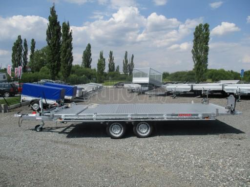 Přepravník SUV a mechanizace JB 3,5T 5,00x2,10 PLATO el.naviják* č.17