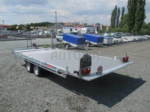 Přepravník SUV a mechanizace JB 3,5T 5,00x2,10 PLATO el.naviják* č.18