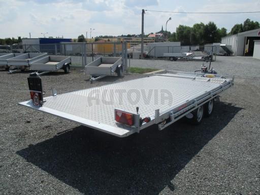 Přepravník SUV a mechanizace JB 3,5T 5,00x2,10 PLATO el.naviják* č.5