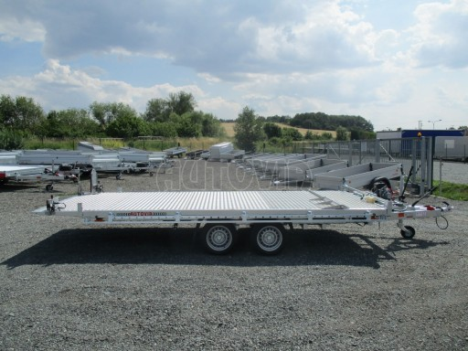 Přepravník SUV a mechanizace JB 3,5T 5,00x2,10 PLATO el.naviják* č.20