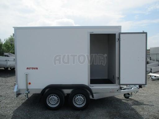 Skříňový přívěs  ZV 31 2,7T B2 3,01x1,54/1,80 dveře* č.9