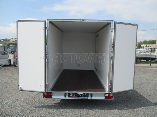 Skříňový přívěs  ZV 31 2,7T B2 3,01x1,54/1,80**dveře č.10