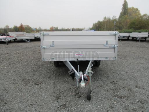 Dvounápravový přívěs s nástavbou bočnic ZV 41 2,7T B2 4,17x2,01/0,70 13