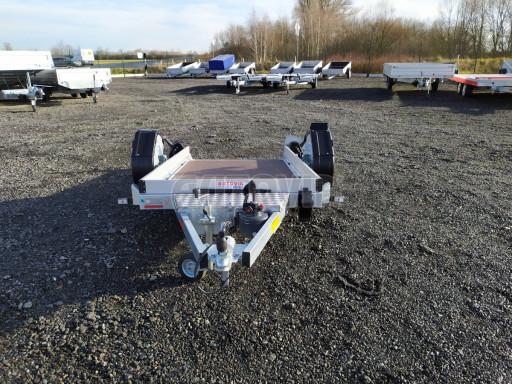Jednoosý nebrzděný hydraulicky sklopný přívěs HS 750kg N1 2,46x1,26/0,10 ruč* č.11