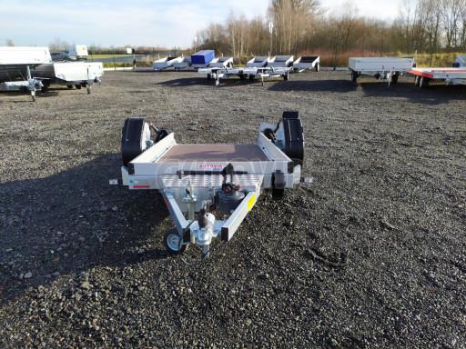 Jednoosý nebrzděný hydraulicky sklopný přívěs HS 750kg N1 2,46x1,26/0,10 ruč* č.12