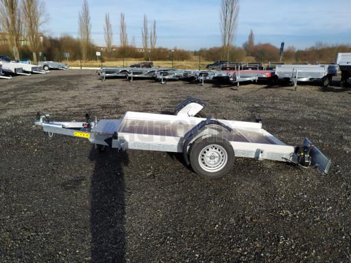 Jednoosý nebrzděný hydraulicky sklopný přívěs HS 750kg N1 2,46x1,26/0,10 ruč* č.13