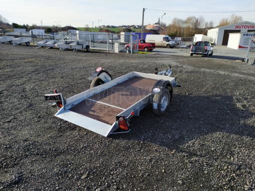 Jednoosý nebrzděný hydraulicky sklopný přívěs HS 750kg N1 2,46x1,26/0,10 ruč* č.15