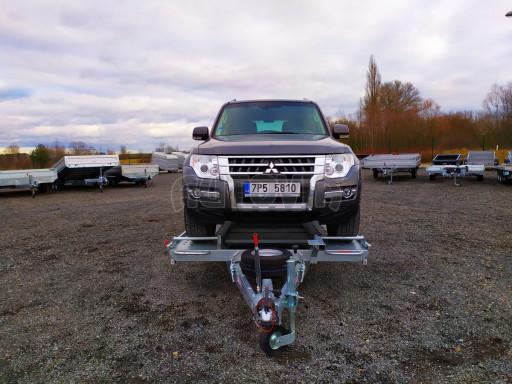 Přívěsný vozík pro přepravu aut KAR 10 2,6T 10 4,01x1,99 č.3