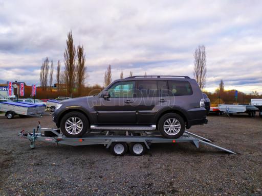 Přívěsný vozík pro přepravu aut KAR 10 2,6T 10 4,01x1,99 č.2