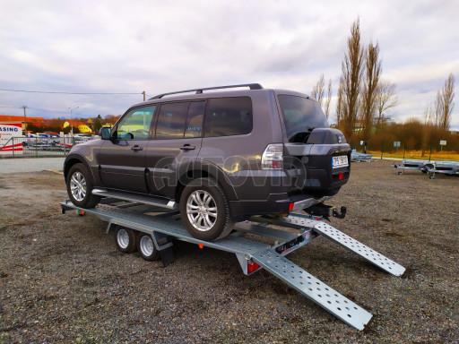 Přívěsný vozík pro přepravu aut KAR 10 2,6T 10 4,01x1,99 č.5