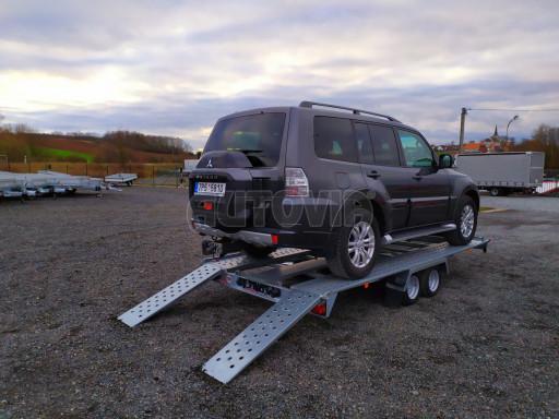 Přívěsný vozík pro přepravu aut KAR 10 2,6T 10 4,01x1,99 č.7