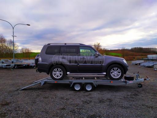 Přívěsný vozík pro přepravu aut KAR 10 2,6T 10 4,01x1,99 č.8