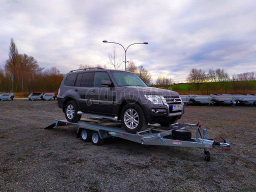 Přívěsný vozík pro přepravu aut KAR 10 2,6T 10 4,01x1,99 č.9