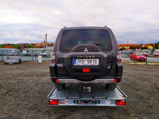 Přívěsný vozík pro přepravu aut KAR 10 2,6T 10 4,01x1,99 č.12