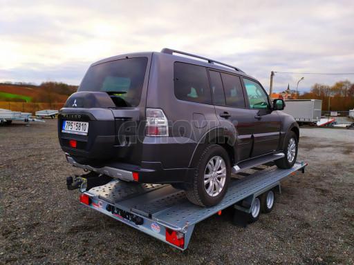 Přívěsný vozík pro přepravu aut KAR 10 2,6T 10 4,01x1,99 č.13