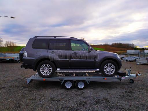 Přívěsný vozík pro přepravu aut KAR 10 2,6T 10 4,01x1,99 č.14