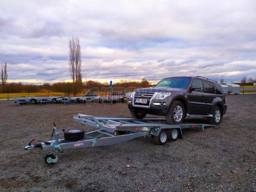 Přívěsný vozík pro přepravu aut KAR 10 2,6T 10 4,01x1,99 č.15