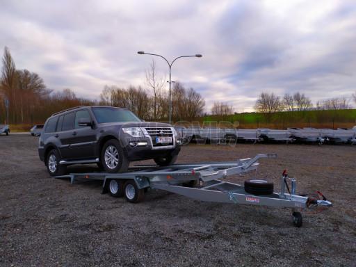 Přívěsný vozík pro přepravu aut KAR 10 2,6T 10 4,01x1,99 č.1