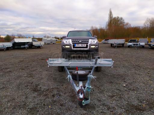 Přívěsný vozík pro přepravu aut KAR 10 2,6T 10 4,01x1,99 č.21
