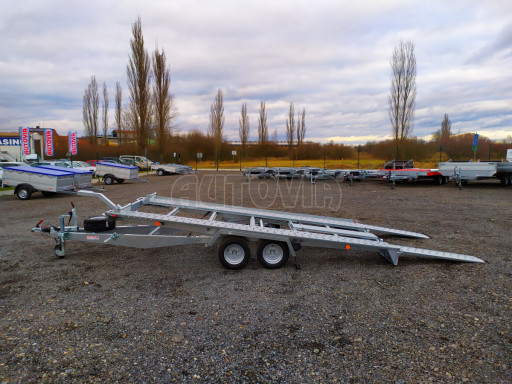 Přívěsný vozík pro přepravu aut KAR 10 2,6T 10 4,01x1,99 č.24