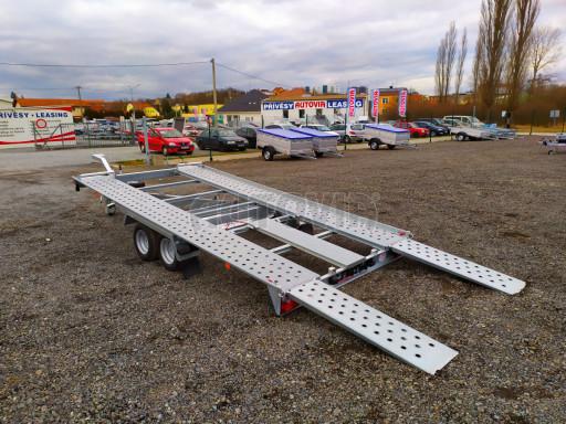 Přívěsný vozík pro přepravu aut KAR 10 2,6T 10 4,01x1,99 č.25