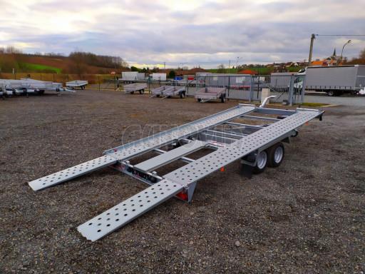 Přívěsný vozík pro přepravu aut KAR 10 2,6T 10 4,01x1,99 č.27