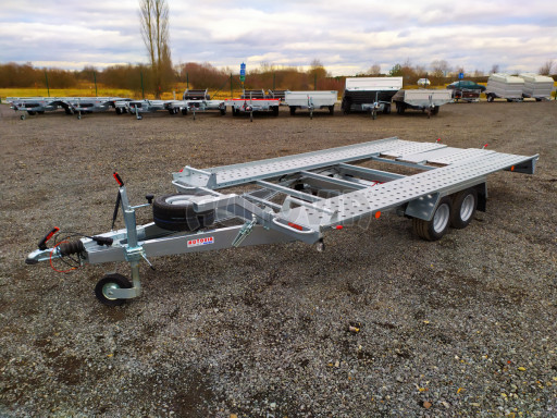 Přívěsný vozík pro přepravu aut KAR 10 2,6T 10 4,01x1,99 č.31
