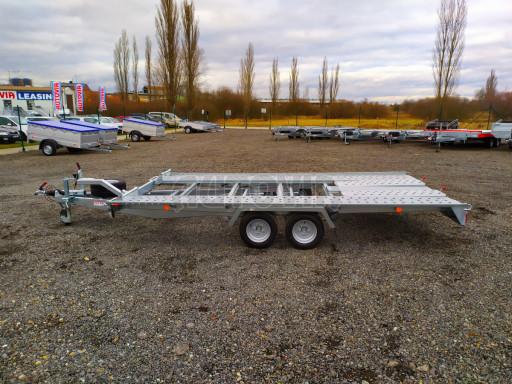 Přívěsný vozík pro přepravu aut KAR 10 2,6T 10 4,01x1,99 č.32