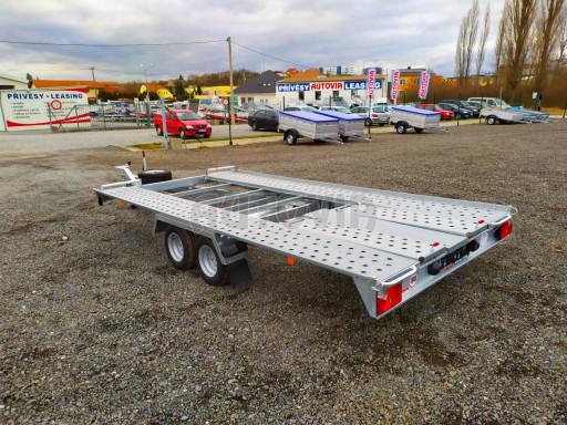 Přívěsný vozík pro přepravu aut KAR 10 2,6T 10 4,01x1,99 č.33