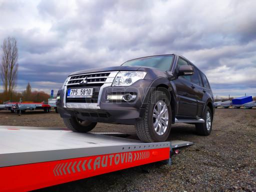 Plato pro převoz velkých vozidel JMB 3,5T B3 5,50x2,09 ALU kola el.naviják* č.36