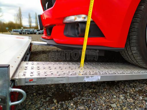 Plato pro převoz velkých vozidel JMB 3,5T B3 5,50x2,09 ALU kola el.naviják* č.45