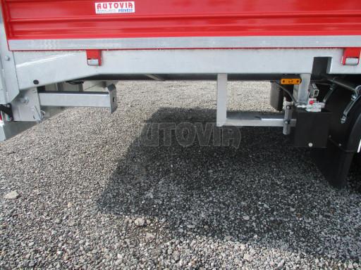 Vzduchem brzděný tandemový přepravník AVG 18T 7,50x2,48/0,40 č.15