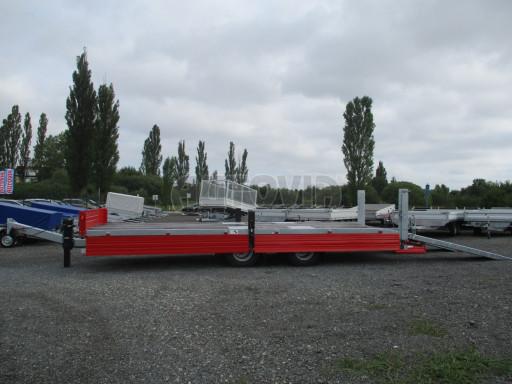 Vzduchem brzděný tandemový přepravník AVG 18T 7,50x2,48/0,40 č.17