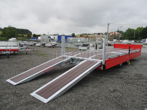 Vzduchem brzděný tandemový přepravník AVG 18T 7,50x2,48/0,40 č.20