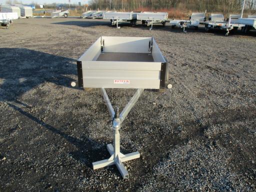 Levný přívěsný vozík s hliníkovými bočnicemi ZV 3 ALU 2,06x1,10/0,35** č.2