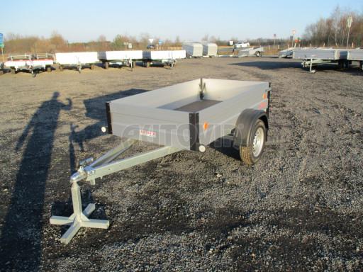 Levný přívěsný vozík s hliníkovými bočnicemi ZV 3 ALU 2,06x1,10/0,35** č.3