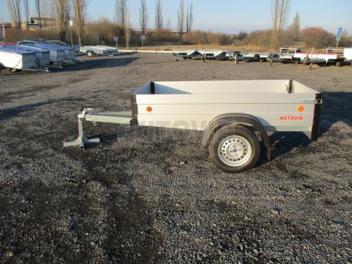 Levný přívěsný vozík s hliníkovými bočnicemi ZV 3 ALU 2,06x1,10/0,35** č.4