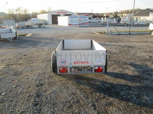 Levný přívěsný vozík s hliníkovými bočnicemi ZV 3 ALU 2,06x1,10/0,35** č.6