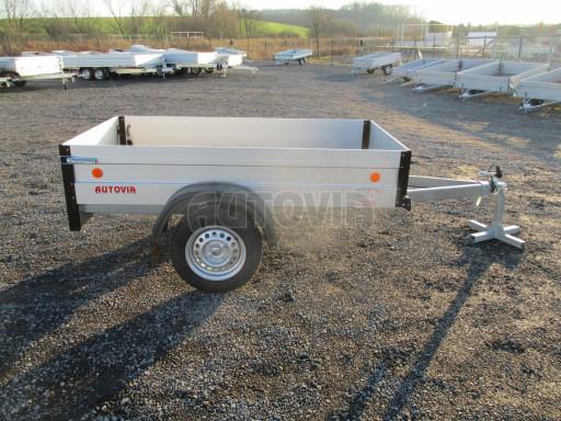 Levný přívěsný vozík s hliníkovými bočnicemi ZV 3 ALU 2,06x1,10/0,35** č.8
