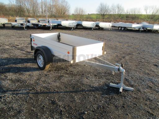 Levný přívěsný vozík s hliníkovými bočnicemi ZV 3 ALU 2,06x1,10/0,35** č.1