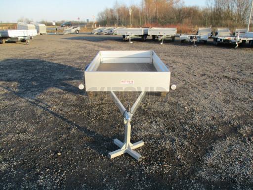 Celoplechový zinkovaný nákladní přívěs HD 27 2,06x1,26/0,30 č.2
