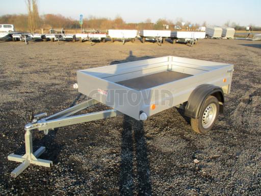 Celoplechový zinkovaný nákladní přívěs HD 27 2,06x1,26/0,30 č.3
