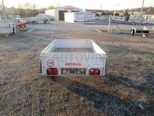 Celoplechový zinkovaný nákladní přívěs HD 27 2,06x1,26/0,30 č.6