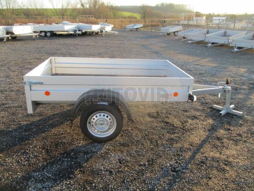 Celoplechový zinkovaný nákladní přívěs HD 27 2,06x1,26/0,30 č.8