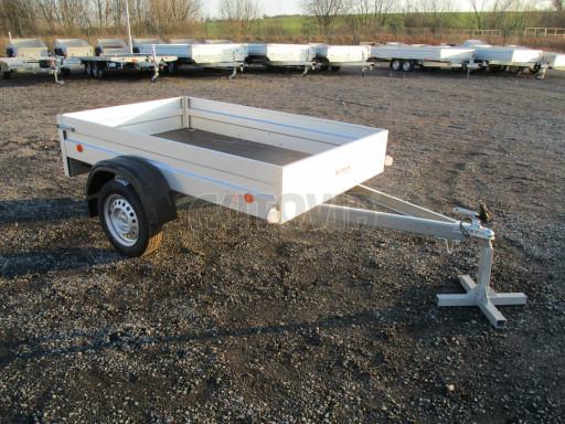 Celoplechový zinkovaný nákladní přívěs HD 27 2,06x1,26/0,30 č.1