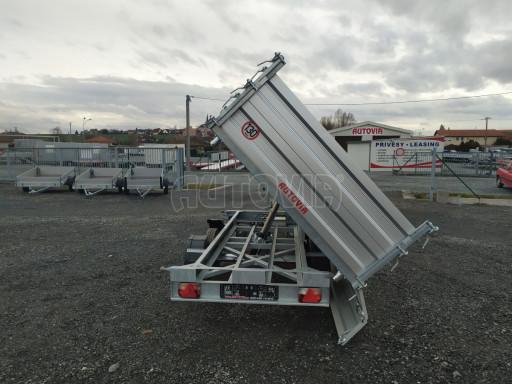 Třístranný sklápěč VER 3SKS 2,7T 3,35x1,76/0,60 el nástavba č.22