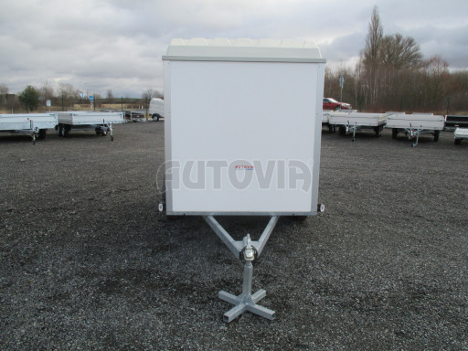 Skříňový vozík s laminátovým víkem ZV 27 N1 O 2,50x1,48/1,65** č.2